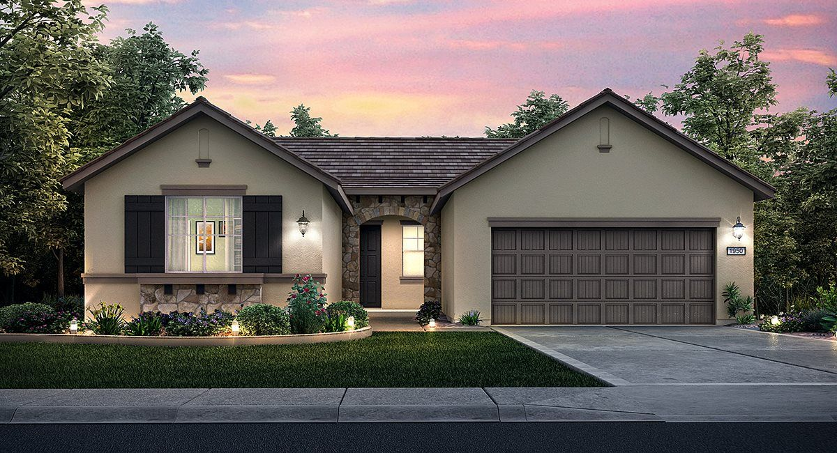 Single Family for Sale at The Miranda - Plan 1950 9387 Leopard Lily Court Sacramento, California 95829 United States