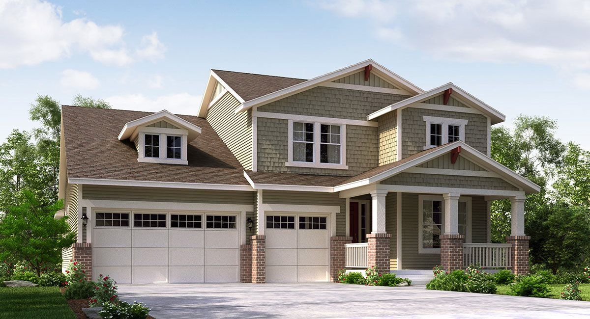 Single Family for Sale at Sierra Ridge: The Grand Collection - Parker 9989 Isle Circle Parker, Colorado 80134 United States