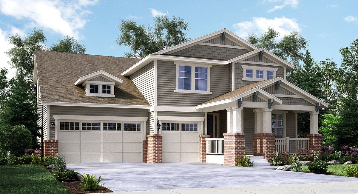 Single Family for Sale at Sierra Ridge: The Grand Collection - Peyton 9989 Isle Circle Parker, Colorado 80134 United States