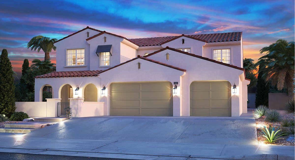Single Family for Sale at Summerlin: Delano - Coral 312 Highspring Street Las Vegas, Nevada 89138 United States