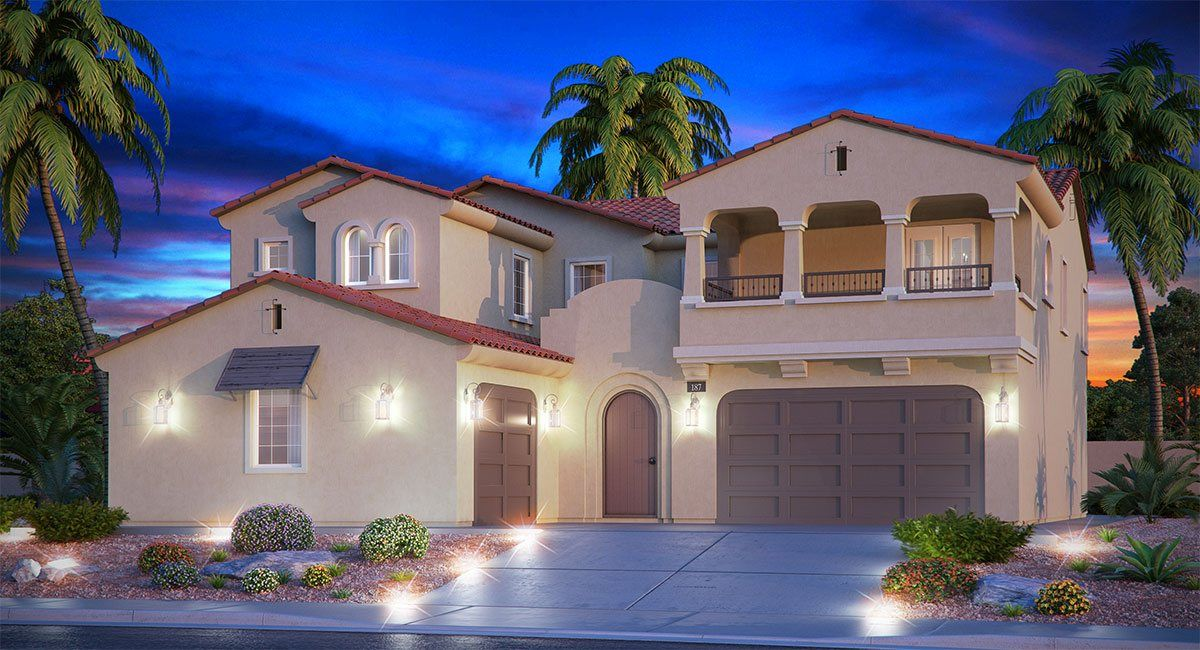 Single Family for Sale at Summerlin: Delano - Anchor Home Within A Home 312 Highspring Street Las Vegas, Nevada 89138 United States