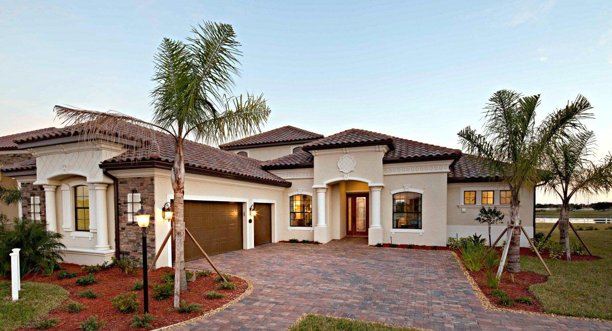 Bridgewater At Lakewood Ranch Estate Homes New Homes In