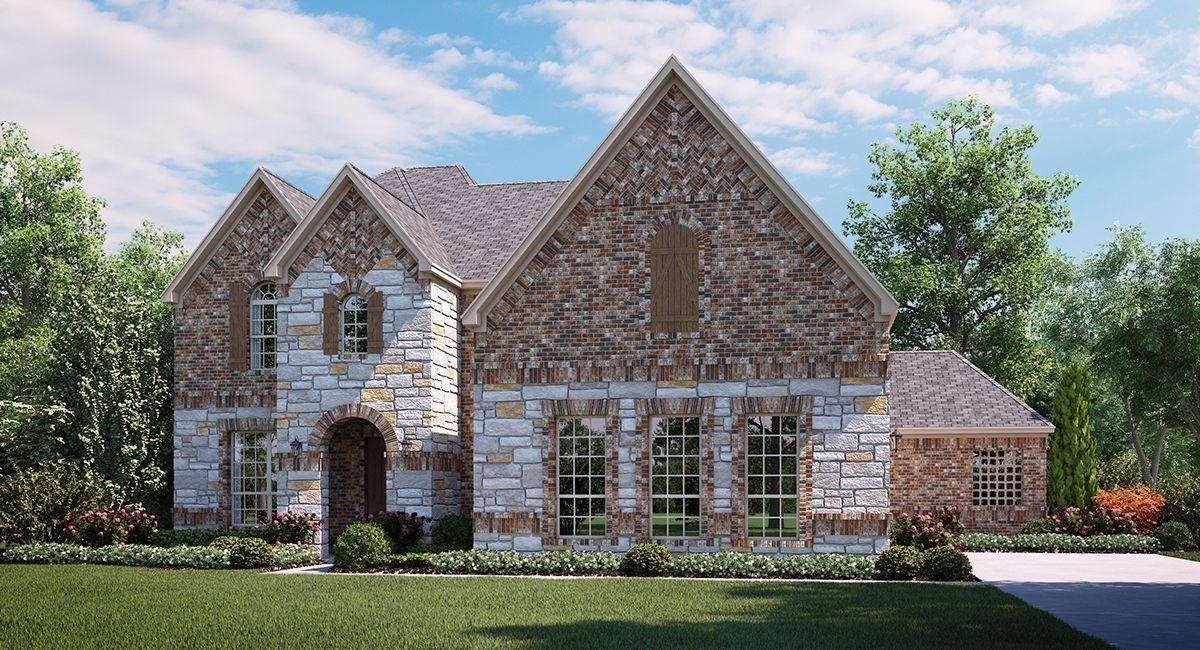 Single Family for Sale at Waters Edge : Masters - Oakmont 9606 Clubhouse Circle Rowlett, Texas 75089 United States