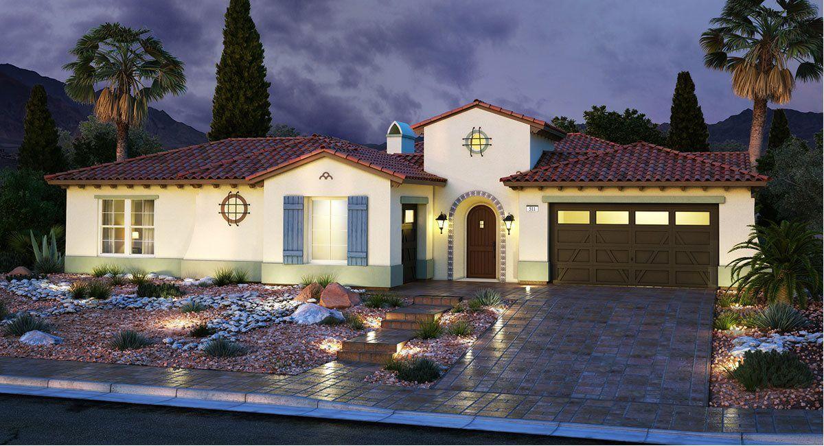 単一家族 のために 売買 アット Southern Highlands: Olympia Ridge - Residence One 8 Olympia Chase Drive Las Vegas, Nevada 89141 United States