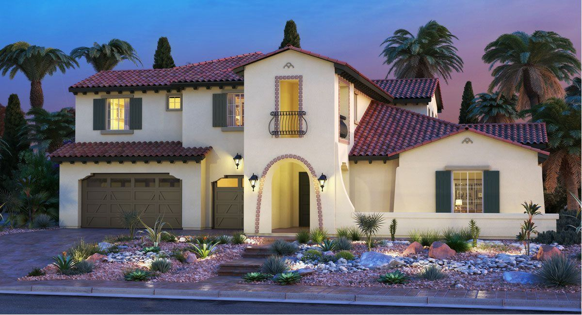 Single Family for Sale at Southern Highlands: Olympia Ridge - Residence Four 8 Olympia Chase Drive Las Vegas, Nevada 89141 United States