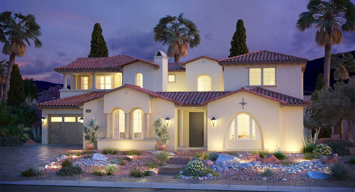 Single Family for Sale at Southern Highlands: Olympia Ridge - Residence Five 8 Olympia Chase Drive Las Vegas, Nevada 89141 United States