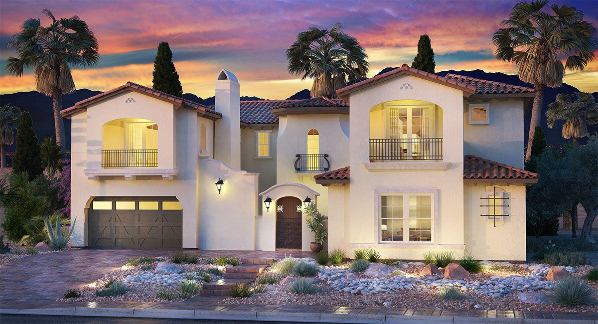 Single Family for Sale at Southern Highlands: Olympia Ridge - Residence Seven 8 Olympia Chase Drive Las Vegas, Nevada 89141 United States