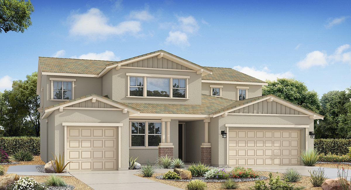 Single Family for Sale at Riverbend: Tranquility - 4122 Next Gen By Lennar 6934 Cache Creek Way Mira Loma, California 91752 United States