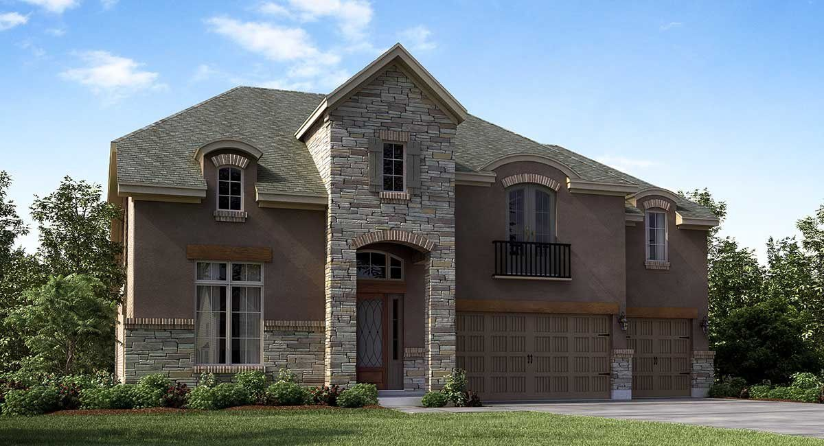 Single Family for Sale at Berkshire 5833 Majestic Harbor Lane Porter, Texas 77365 United States
