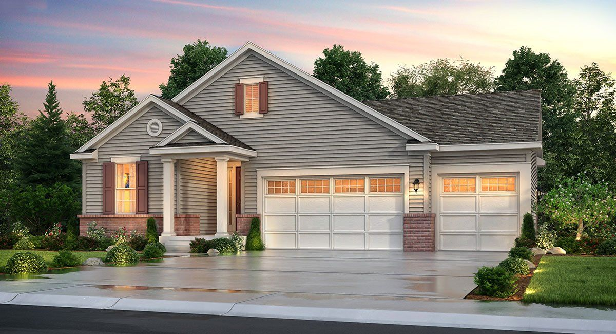 Single Family for Sale at Dove Village: The Grand Collection - Sheffield 8950 Sassafras Court Parker, Colorado 80134 United States