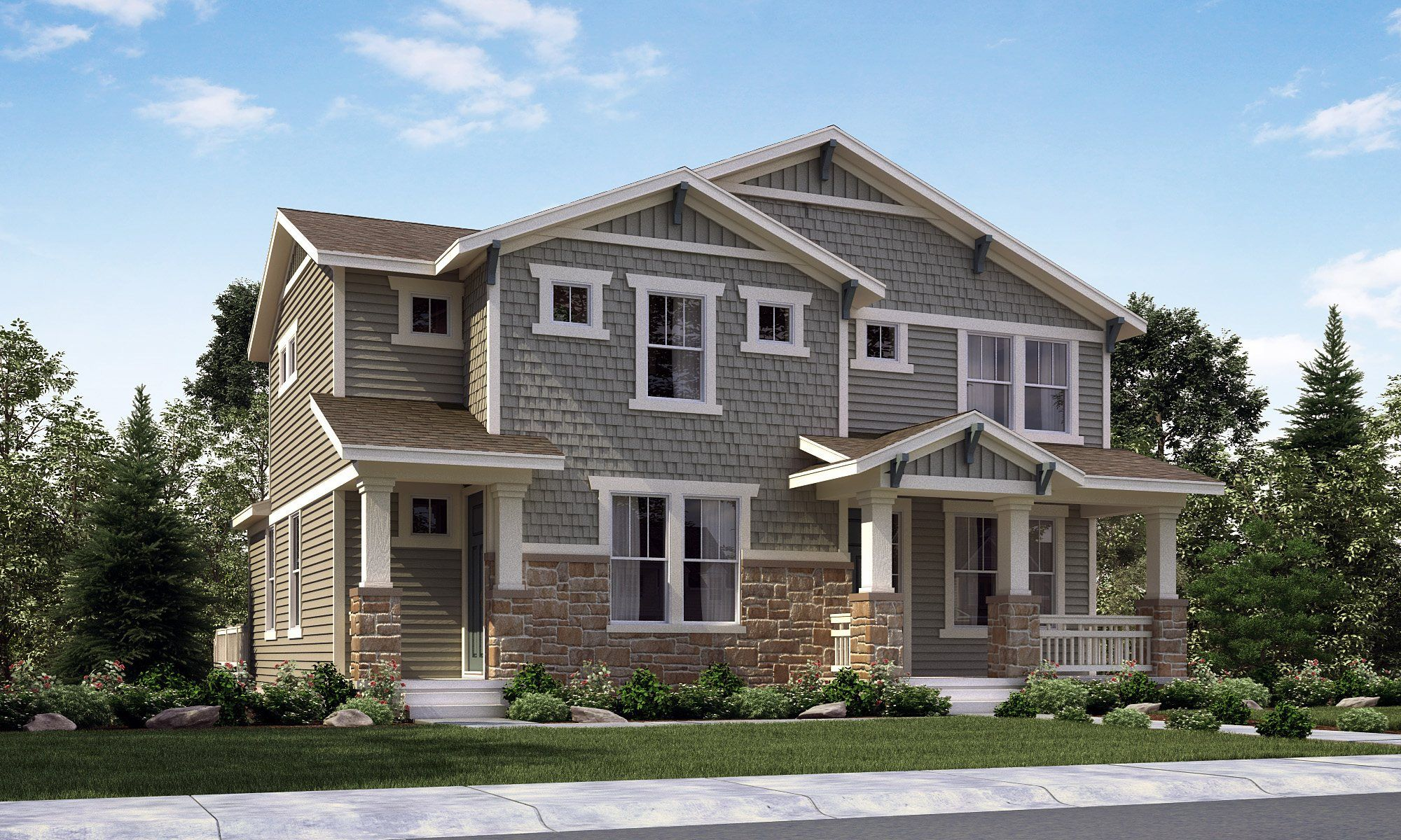 Single Family for Sale at Stapleton: The Generations Collection - Legacy 5449 Verbena Street Denver, Colorado 80238 United States