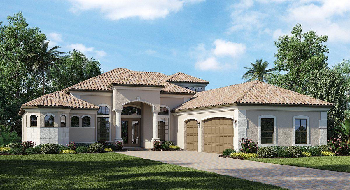 Single Family for Sale at River Strand: Estate Homes - Laurel 7133 Quiet Creek Way Bradenton, Florida 34212 United States