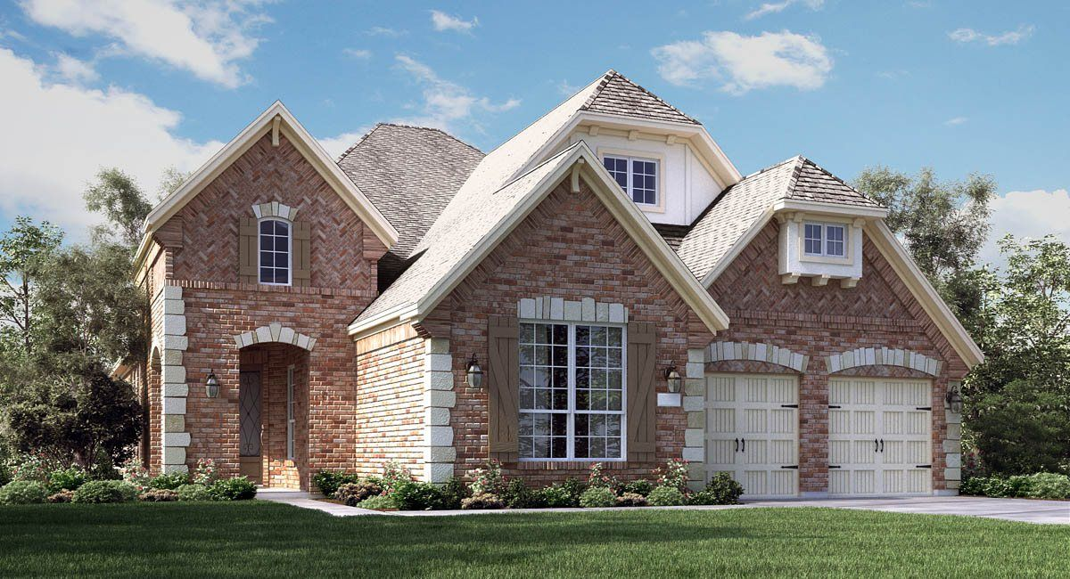 Single Family for Sale at Lakes At Creekside: Heartland And Wentworth Collections - Stillwater 8919 Turnberry Glen Ct. Tomball, Texas 77375 United States