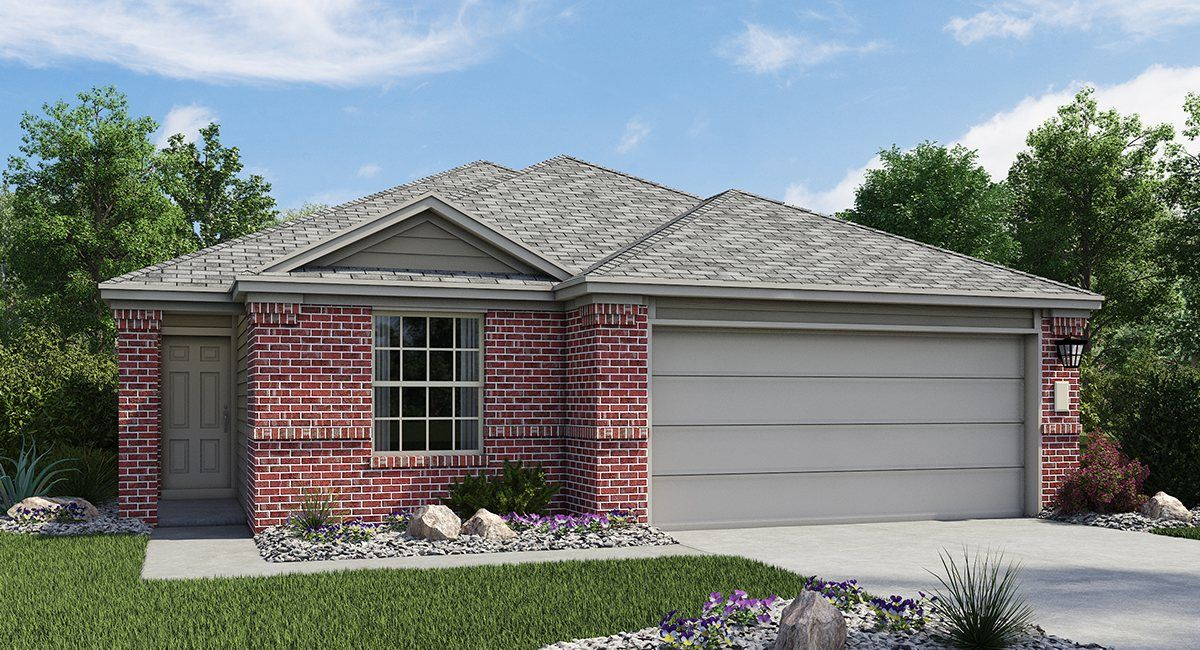 Lennar colorado crossing barrington collection bourne for New modern homes in austin tx