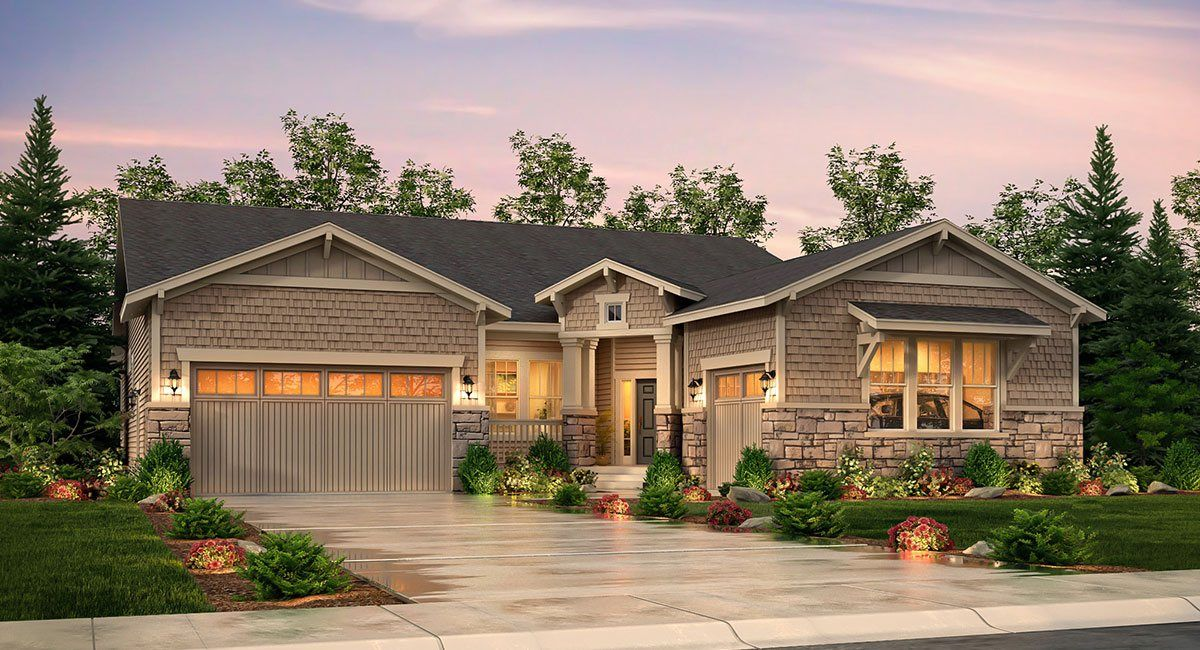 Single Family for Active at Heritage Todd Creek - The Legends Collection - Irwin 8052 E. 151st Place Thornton, Colorado 80602 United States