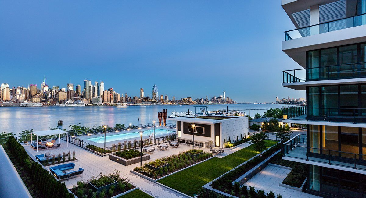 Multi Family for Sale at Residence 607 1200 Ave @ Port Imperial 607 Weehawken, New Jersey 07086 United States