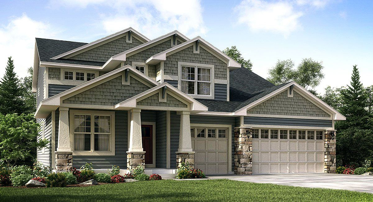 Single Family for Sale at Settler's Ridge Landmark - Summit 6896 Alverno Lane Inver Grove Heights, Minnesota 55077 United States