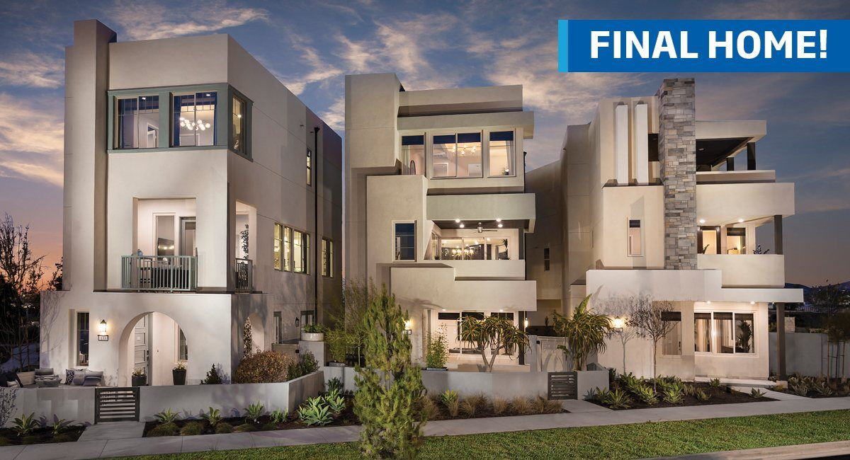 Multi Family for Sale at Great Park Neighborhoods: Obsidian At Parasol Park - Residence 2 Cadence & Bosque Irvine, California 92618 United States