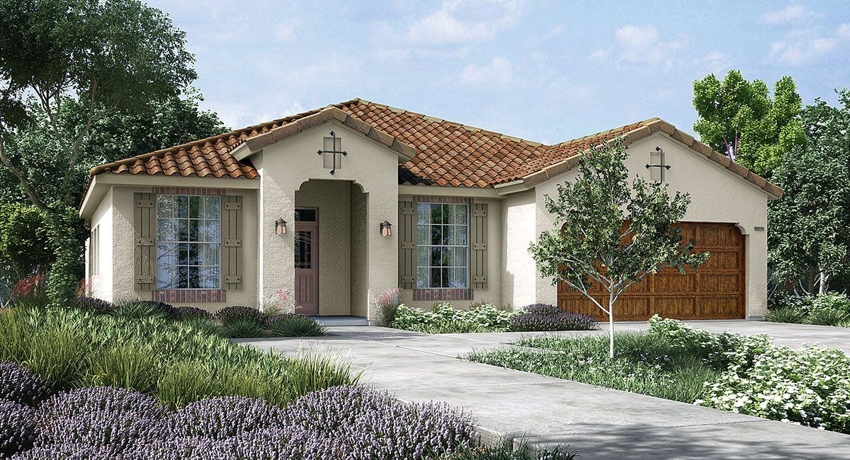 Single Family for Sale at Blossom Hill - California Series - Bristlecone 6735 W. Sapphire Dr. Fresno, California 93727 United States
