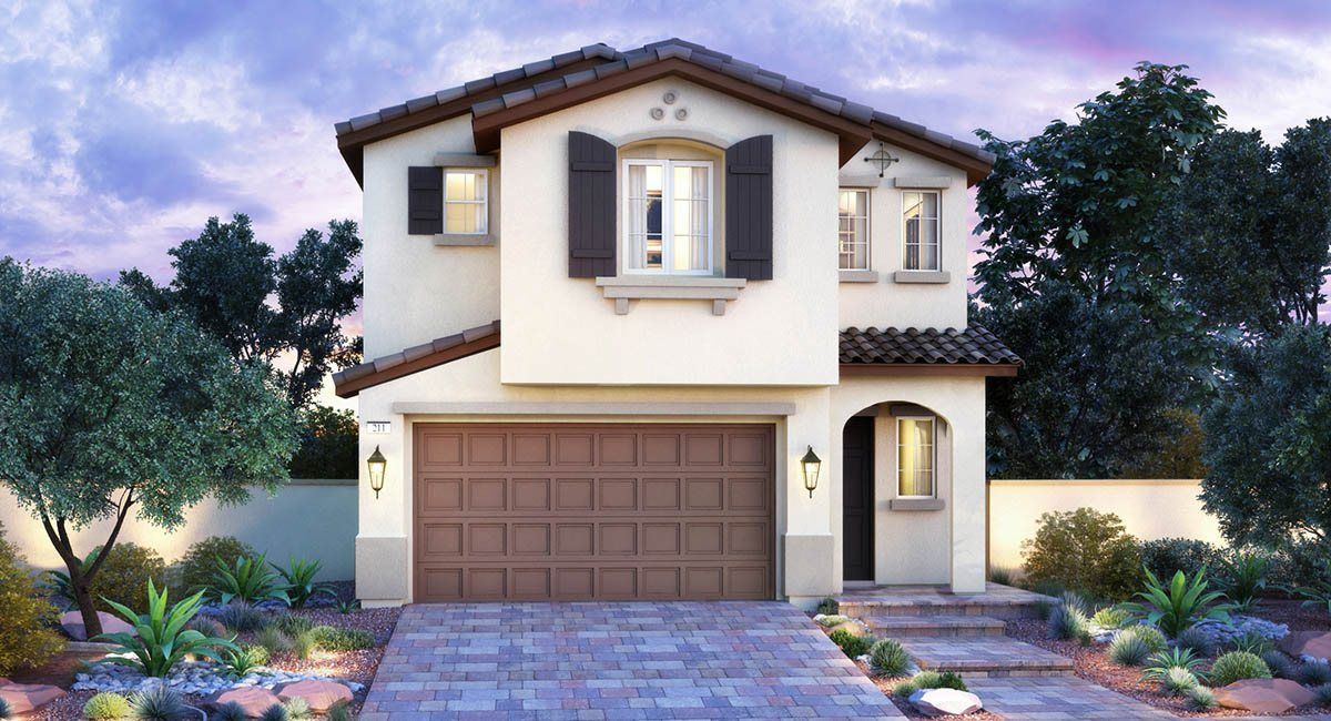 Один семья для того Продажа на Davyn Ridge - Cordell 4084 Topaz Hills Drive North Las Vegas, Nevada 89032 United States