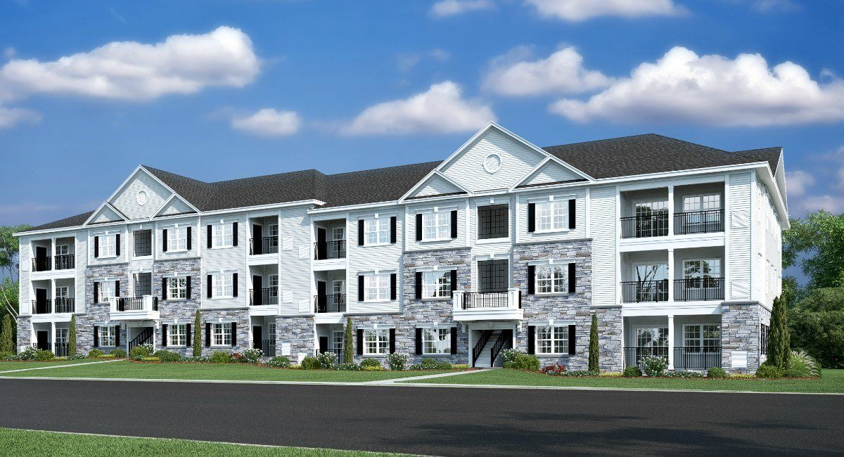 The Lofts At Monroe Parke New Homes In Monroe Nj By Lennar
