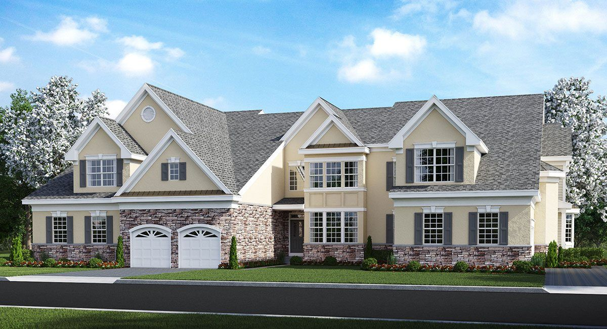 Multi Family for Sale at Greenbriar Falls - Active Adult 55+ - Bayberry 18 Mineral Springs Lane Eatontown, New Jersey 07724 United States