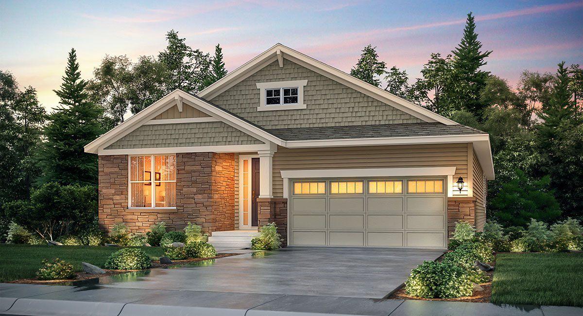 Single Family for Sale at Blackstone: The Monarch Collection - Springdale 27806 E Alder Drive Aurora, Colorado 80016 United States