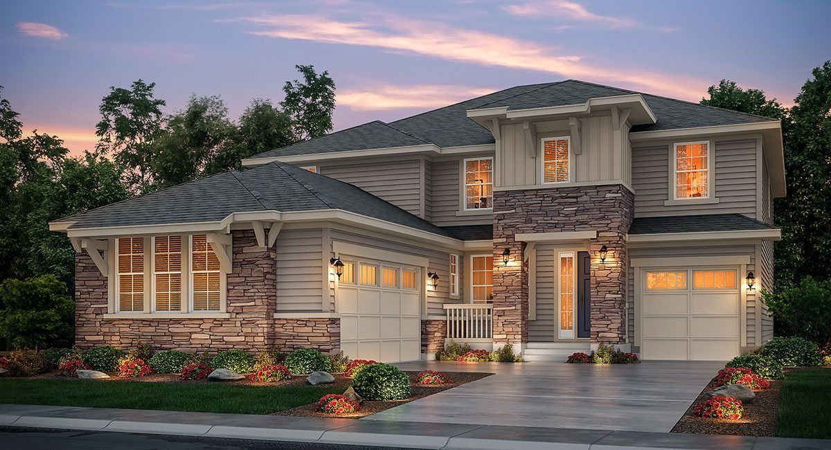 Single Family for Active at Prescott 7056 Hyland Hills Street Castle Pines, Colorado 80108 United States