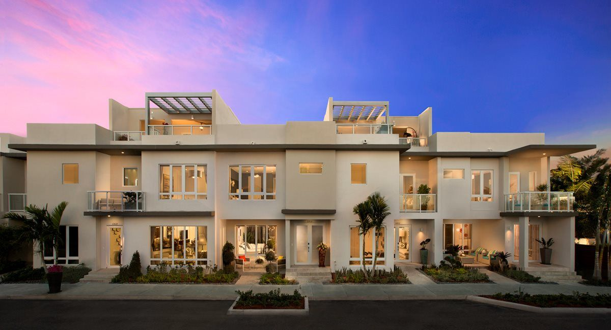 Multi Family for Sale at Landmark : 2-Story Townhomes - Model E 6500 Nw 105th Place Doral, Florida 33178 United States