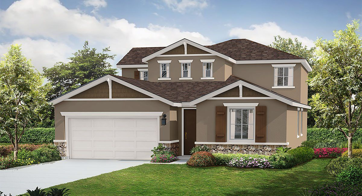 Single Family for Sale at Rosena Ranch : Aster - 2649 Next Gen By Lennar 3573 Sugarberry Court San Bernardino, California 92407 United States