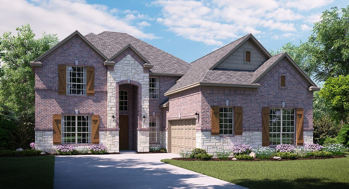 Single Family for Sale at Acadia 16339 Moss Haven Lane Little Elm, Texas 75068 United States