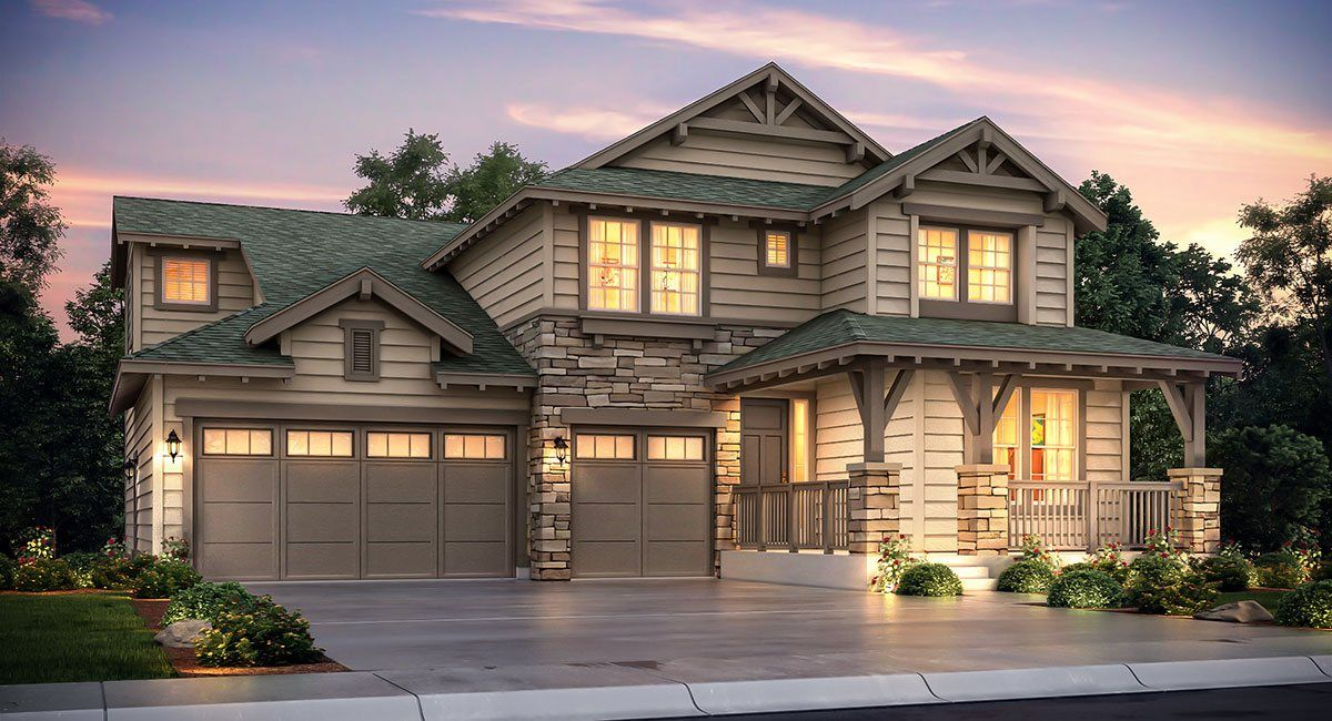 Additional photo for property listing at Sterling Ranch: The Grand Collection - Peyton 8055 Blue River Avenue Littleton, Colorado 80125 United States