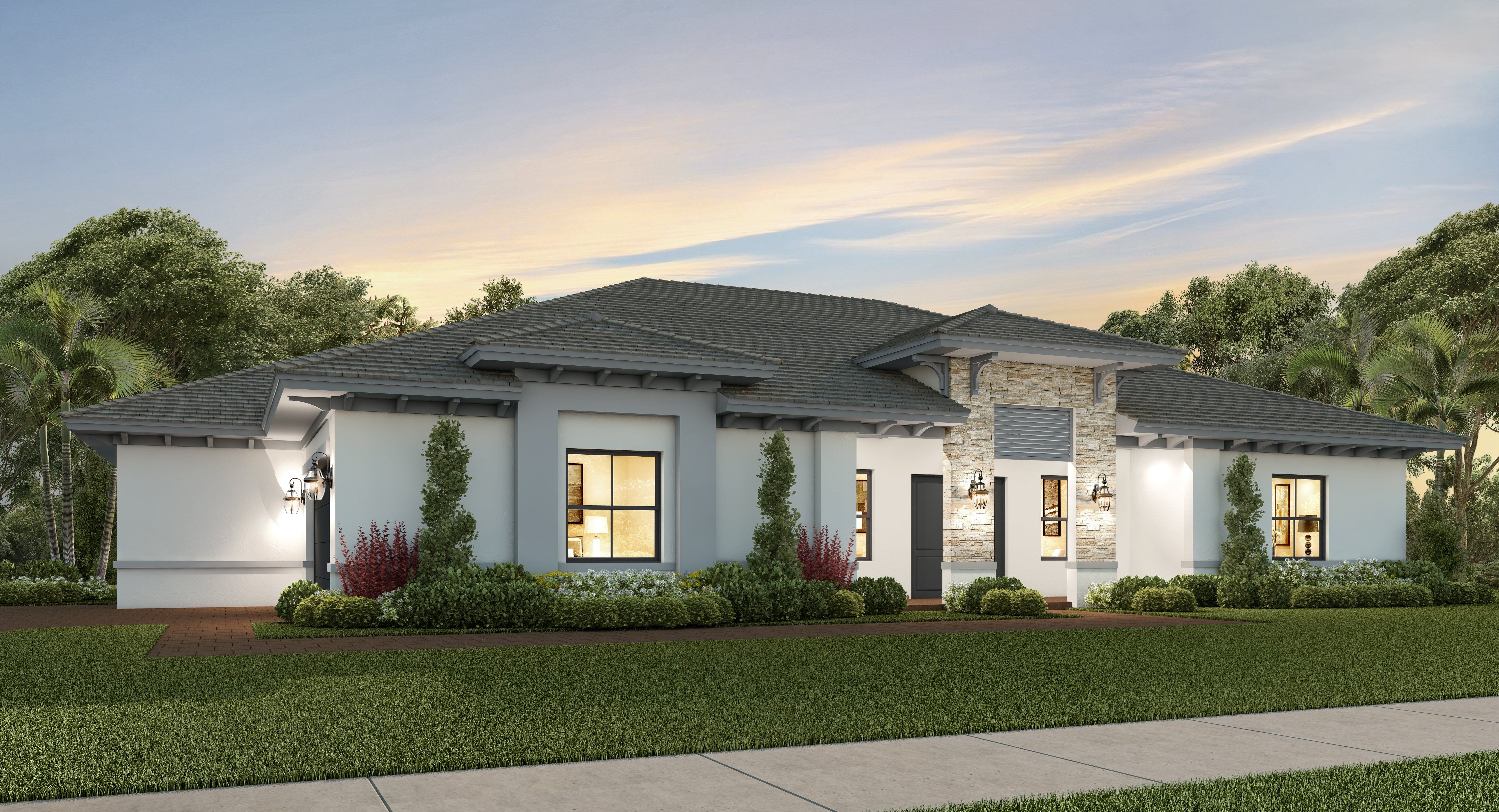 Awe Inspiring 19060 Sw 136 Ct Miami Fl 33177 New Home In Galiano Estates Home Interior And Landscaping Elinuenasavecom