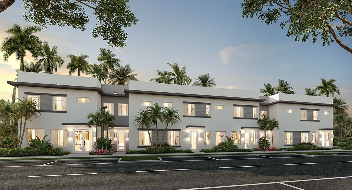 Multi Family for Active at Landmark - 2-Story Townhomes - Model J Nextgen 6500 Nw 105th Place Doral, Florida 33178 United States