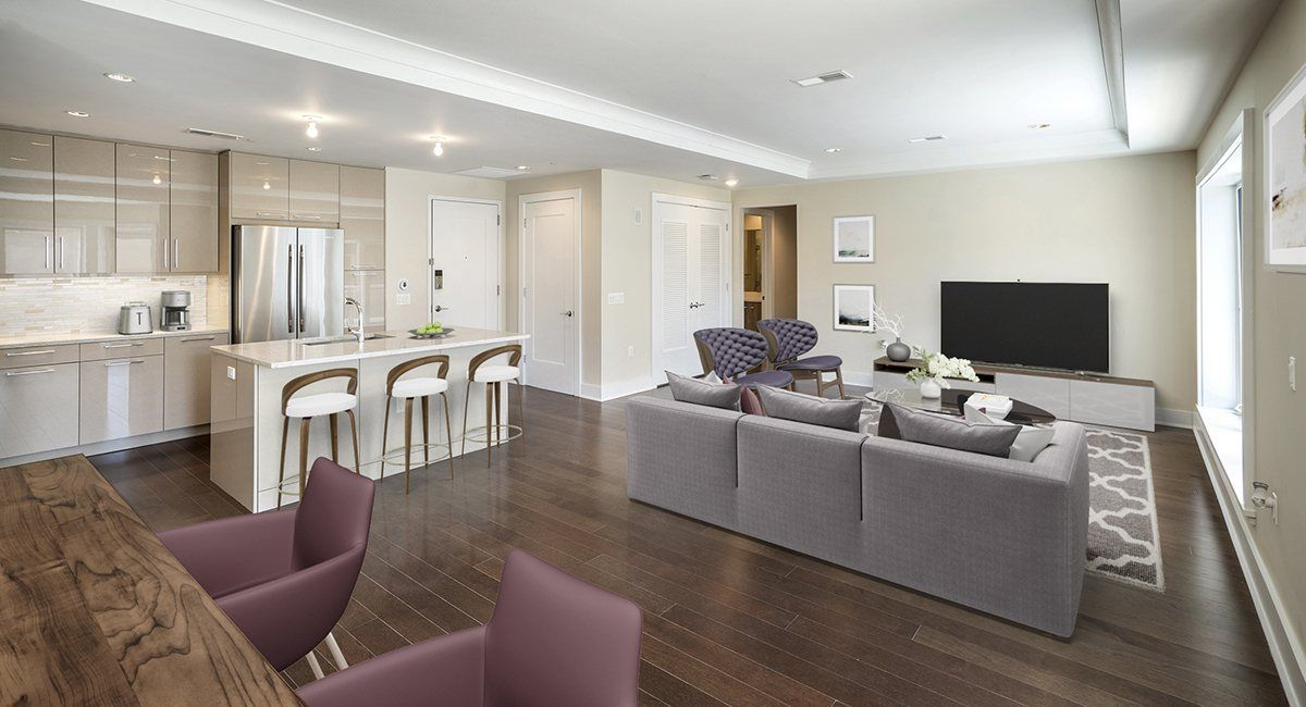 Multi Family for Active at Henley On Hudson - 100 Eton Row #302 1600 Avenue At Port Imperial Weehawken, New Jersey 07086 United States