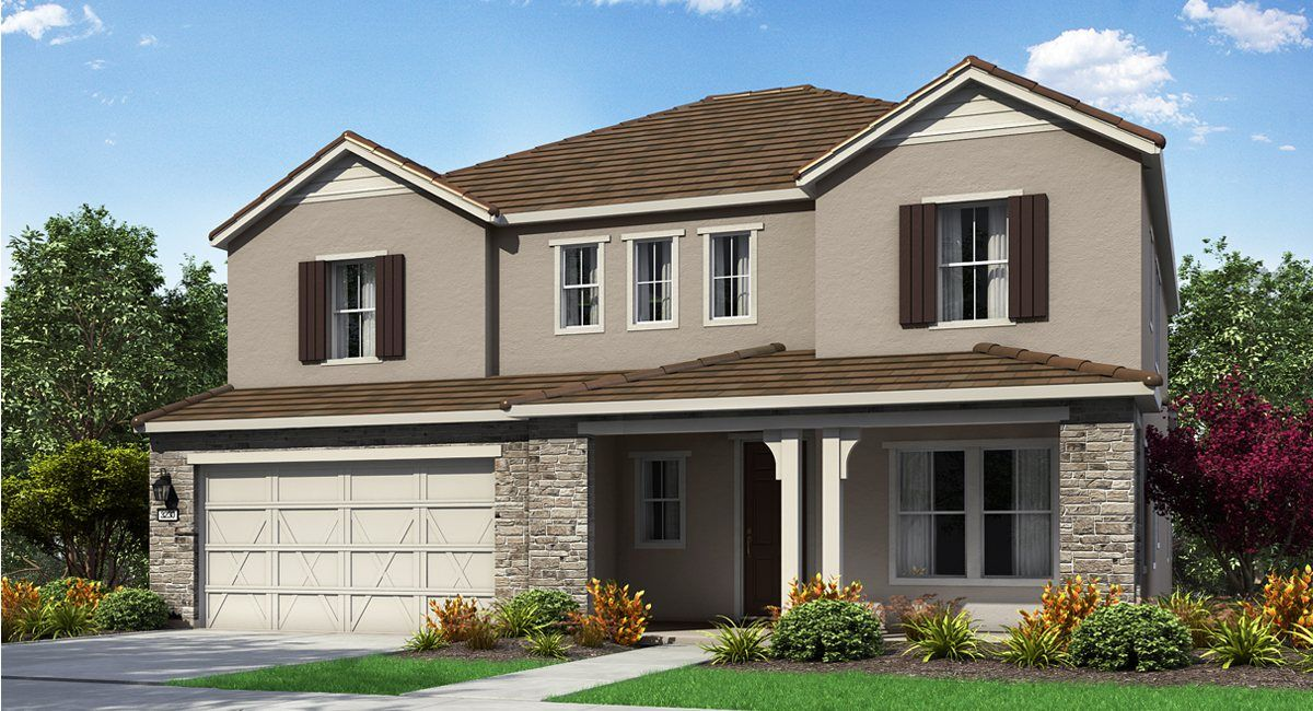 Single Family for Active at Copperwood At Folsom Ranch - Residence 3230 4481 Hummingbird Circle Folsom, California 95630 United States