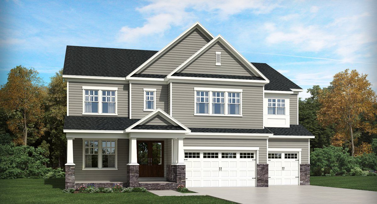 Single Family for Active at 12 Oaks - Estate Collection - Jennings Ii 412 Ivy Arbor Way Holly Springs, North Carolina 27540 United States