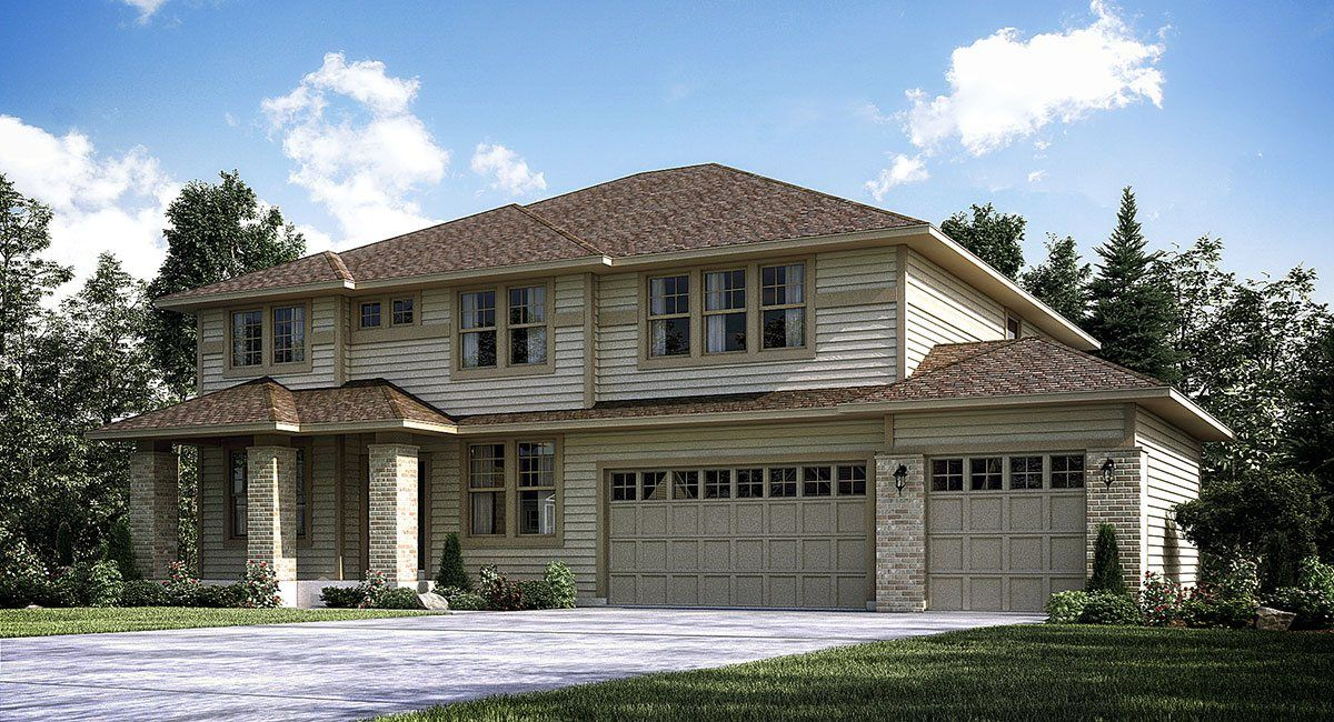 Lennar camden ridge classic collection springdale for Homes for sale chanhassen mn