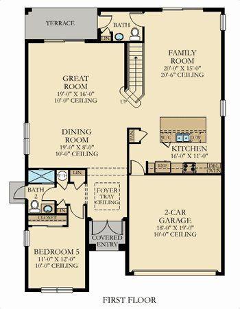 Retreat for Kaplan floor plan