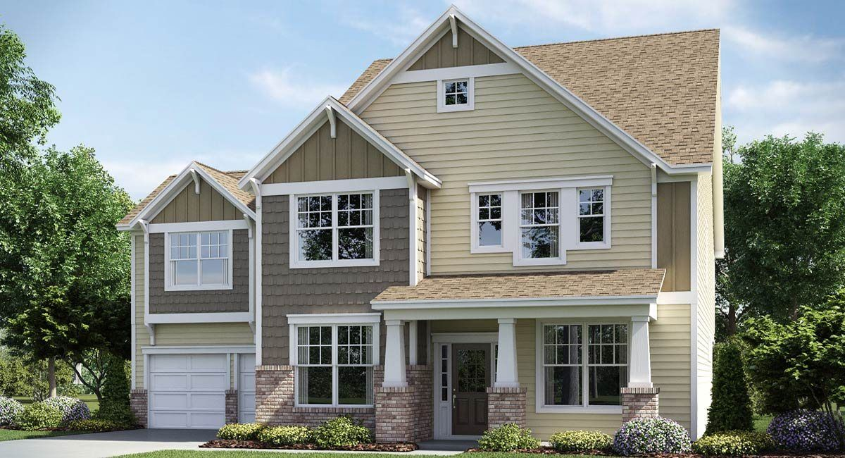 Lennar southern trace traditions ivy basement 1186289 for Traditions charlotte nc