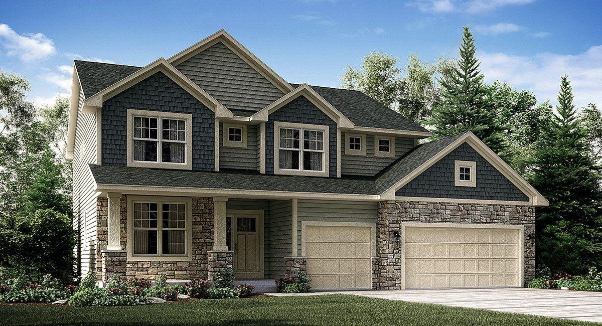Lennar cayden glen washburn 1119184 cottage grove mn for Modern homes for sale mn