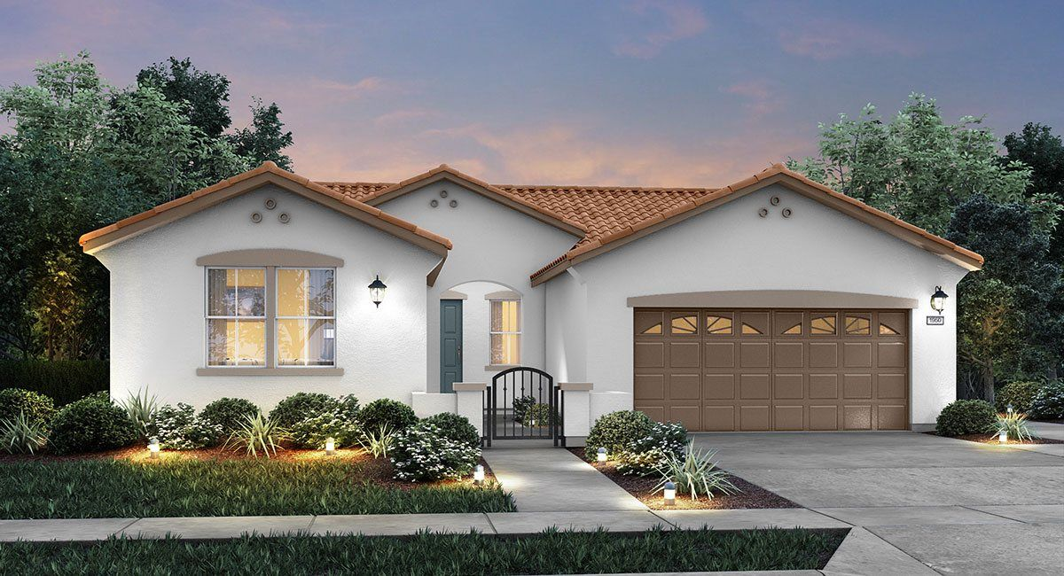 Single Family for Sale at Brookstone At Spring Lake - The Terrazzo - Plan 1950 2040 Farmers Central Road Woodland, California 95776 United States