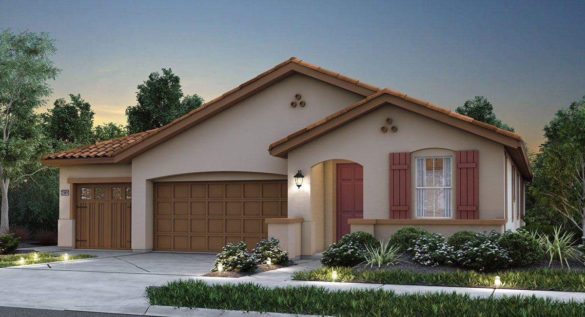 Single Family for Sale at Brookstone At Spring Lake - The Turquoise - Plan 2361 2040 Farmers Central Road Woodland, California 95776 United States