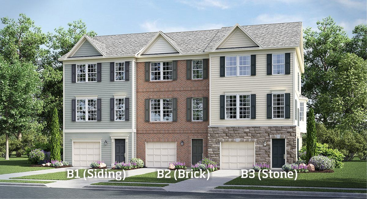 Rappahannock landing garage townhomes the westover for The westover