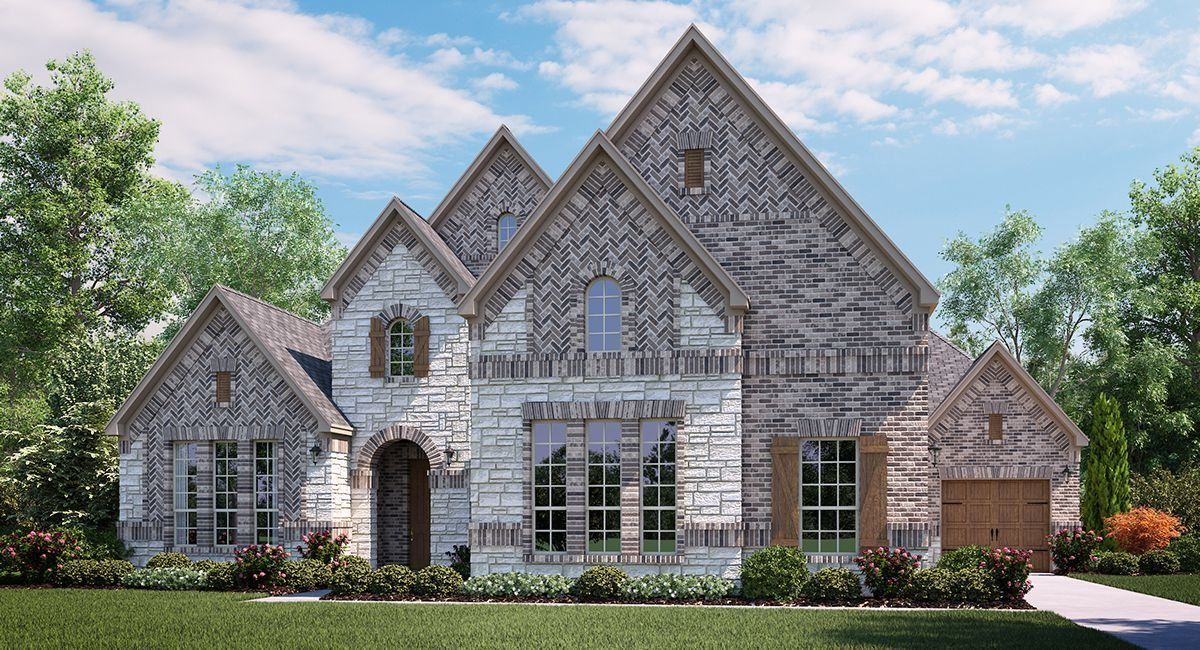 Single Family for Sale at Waters Edge : Masters - Riviera 9606 Clubhouse Circle Rowlett, Texas 75089 United States