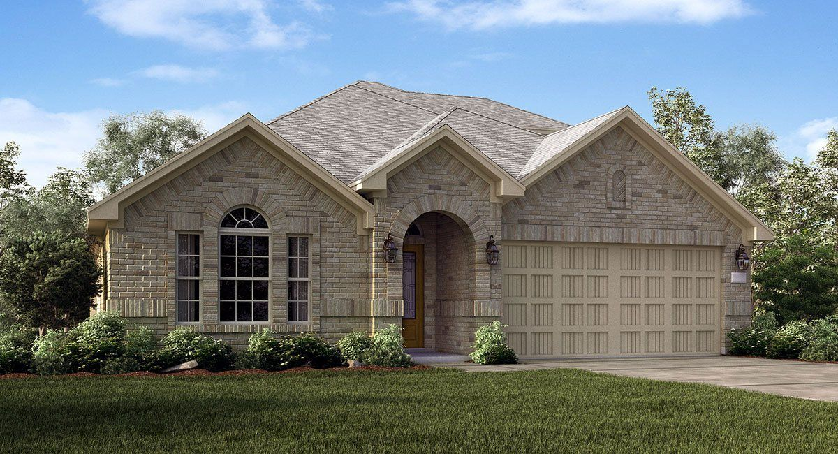 Single Family for Sale at Texas National-Brookstone And Wildflower Collections - Giallo 12001 Mustang Avenue Willis, Texas 77378 United States