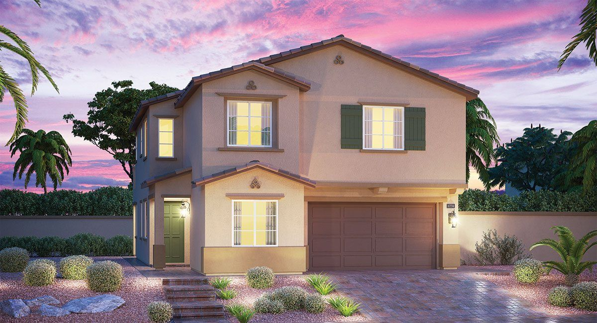 Single Family for Sale at Windsor Square - Brighton 5863 Ashton Park Court Las Vegas, Nevada 89113 United States