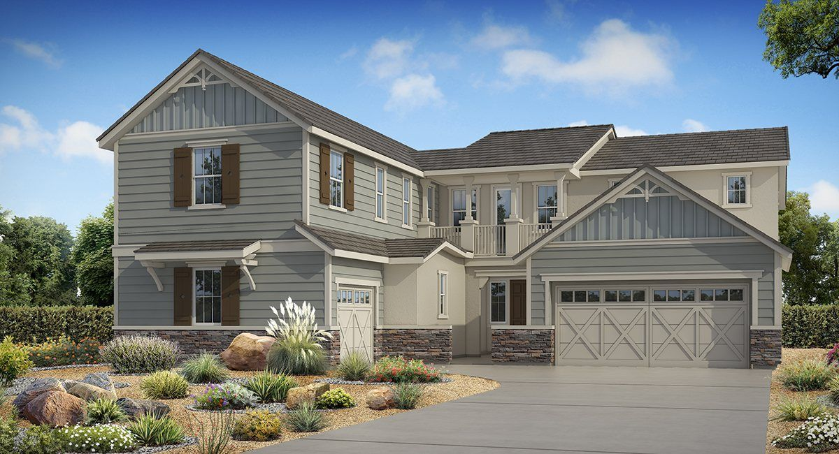 Unique la famille pour l Vente à University Park: Berkshire - 4271 Next Gen By Lennar 14441 Birmingham Drive Chino, California 91710 United States