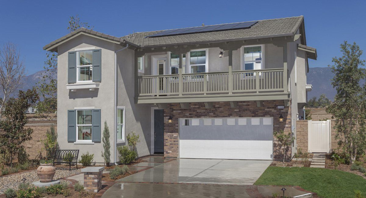 Landmark New Homes In Rancho Cucamonga Ca By Lennar