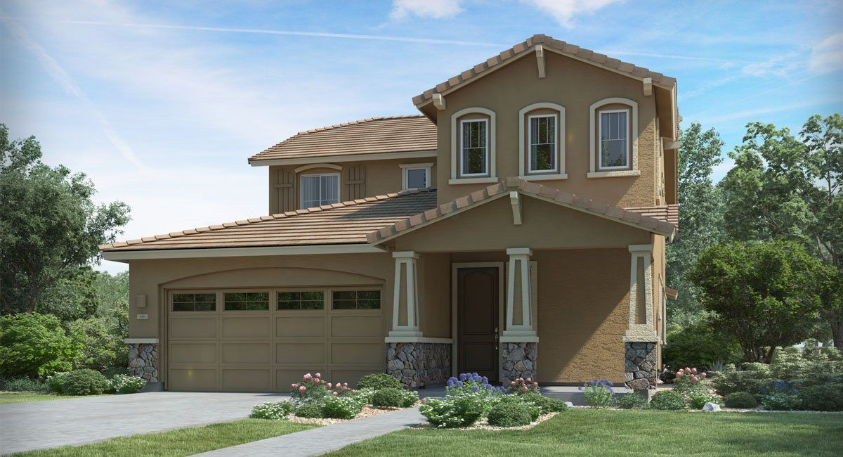 Lennar discovery at solare ranch liberty home within a for New homes glendale ca